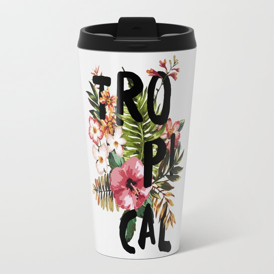Tropical I Travel Mug
