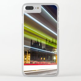 Lights on Westminster Bridge Clear iPhone Case