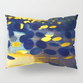 GLAM CIRCLES #Blue #1 Pillow Sham