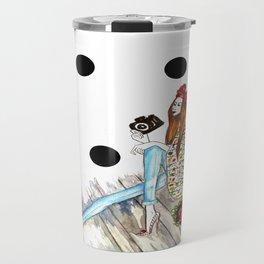 Dots & bow Travel Mug