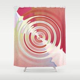 Liquid Sound - Warm Shower Curtain