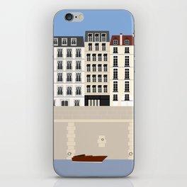 Paris on the Seine River | France iPhone Skin