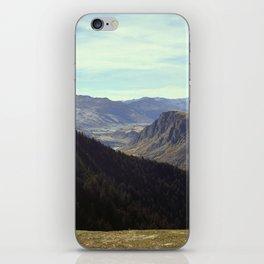 Top of the gondola iPhone Skin