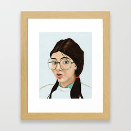 Yearbook 80, Science Lab Framed Art Print