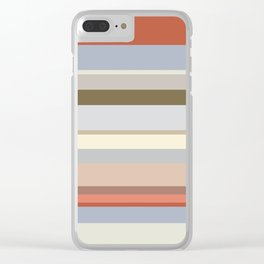 Lines | Stonework Clear iPhone Case