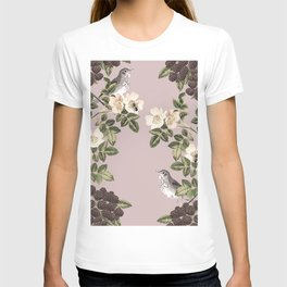 Birds and the Bees Pink Berry T-shirt
