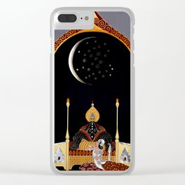 """Art Deco Exotic Design """"In the Casbah"""" Clear iPhone Case"""