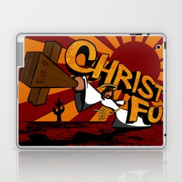 Christ Fu - Love Thy Unconscious Enemy Laptop & iPad Skin