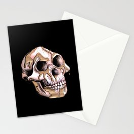 Kintsugi Lucy Skull Stationery Cards