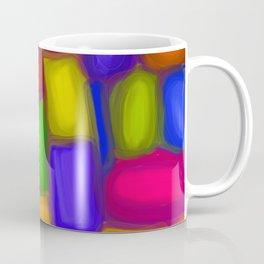 Patchwork Marker Pen Coffee Mug