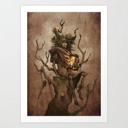 Shaman #1: Firefly Art Print