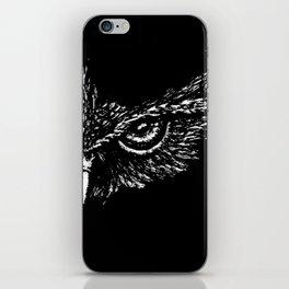 Focused (Black) iPhone Skin