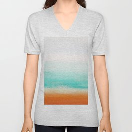 Waves and memories 02 Unisex V-Neck