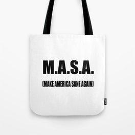 M.A.S.A Tote Bag