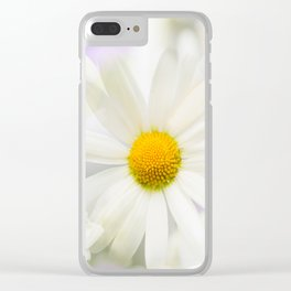 Daisy Flower Bouquet Pastel Color Background #decor #society6 #buyart Clear iPhone Case