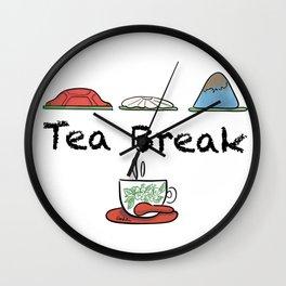 Tea Break Wall Clock