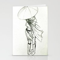 sketch Stationery Cards featuring Sketch by KittyKate