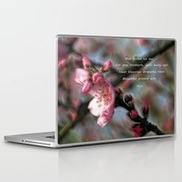 poem Laptop & iPad Skins featuring Poem from Rumi 2 by Lucia