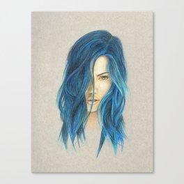 """Blue"" Canvas Print"