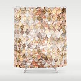 MERMAID GOLD Shower Curtain