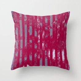 Strawberry crush pole. Throw Pillow