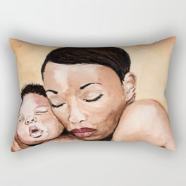 Mother and baby. Rectangular Pillow