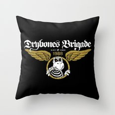 DryBones Brigade Throw Pillow