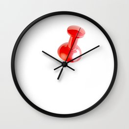 Pin All Wall Clock