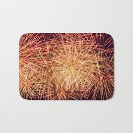 Art of the Fireworks Bath Mat