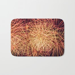 Art of the Fireworks Bath Mat