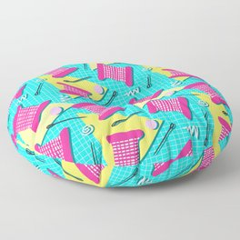 Memphis Sewing - Brights Floor Pillow