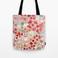 blossom Tote Bags featuring Blossom by Marta Olga Klara