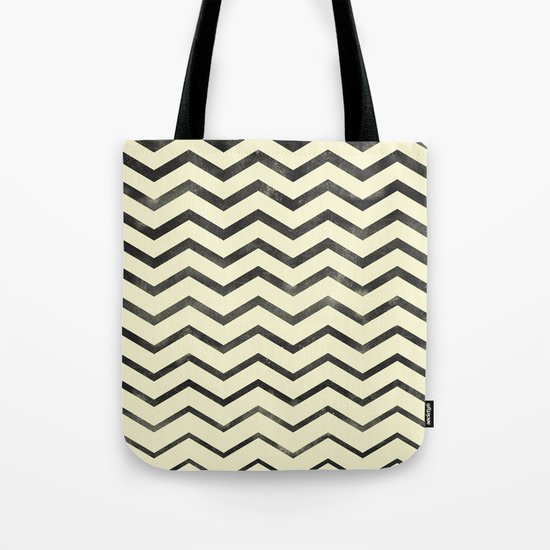 Zag (natural) Tote Bag