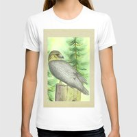 merlin T-shirts featuring Merlin Falcon by Holly Barbo