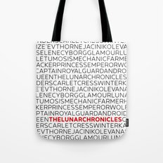 Type: Lunar Chronicles Tote Bag