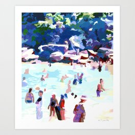 Eleven AM (Shelly Beach) Art Print