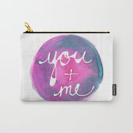 You + Me by Lara Cornell Carry-All Pouch