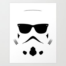 Shadetrooper Art Print