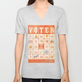 The Bingo Vote Unisex V-Neck