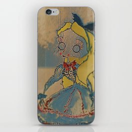 Velvetesque Dolls • Wonderland Collection #1B iPhone Skin