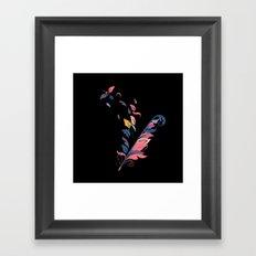 Quill Framed Art Print