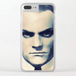 Jimmy Cagney, Hollywood Legend Clear iPhone Case