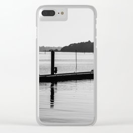 Moored Up. Clear iPhone Case