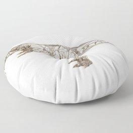 T-REX GOLD Floor Pillow