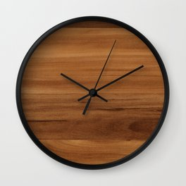 Wooden decor furniture patter Wall Clock