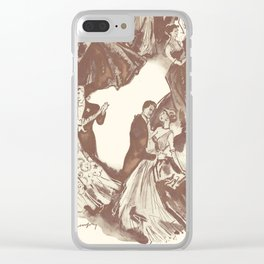 Having A Ball ! Clear iPhone Case