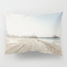 Pier View Santa Monica California Pillow Sham
