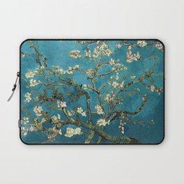Blossoming Almond Trees, Vincent van Gogh. Famous vintage fine art. Laptop Sleeve
