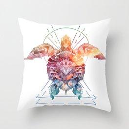 Spirit of the SeaTurtle Throw Pillow