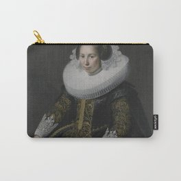 Paulus Moreelse - Portrait of Catharina van Voorst (1595-1650) Carry-All Pouch